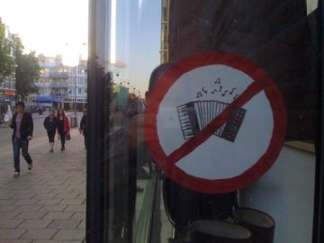 Nice that there are enough accordions to warrant this.