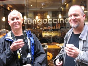 David Schwartz and I at Lungocinno