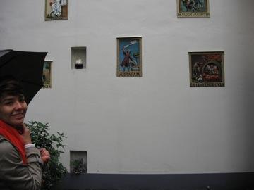 Jesse at the Begijnhof