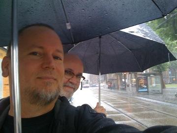 A rather furious downpour...