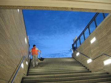 Exit at Brandenburger Tor