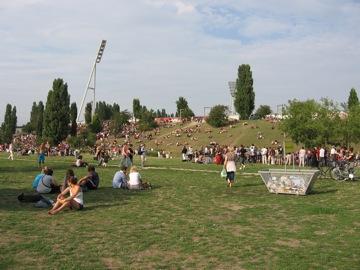 Mauerpark....