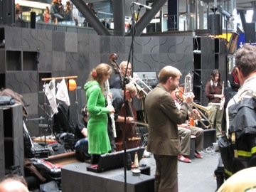 Splitter Orchestra at Hbf