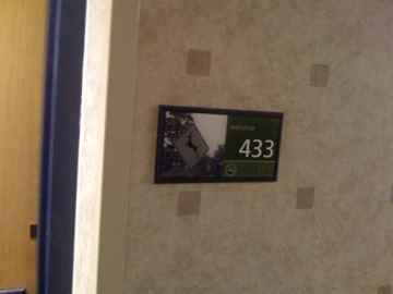 The John Cage Memorial Suite at Hampton Inn