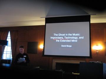 David Borgo presenting....