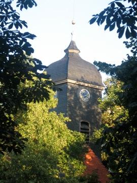 13th Century Church by Biergarten...