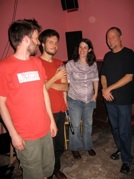 Roy Carroll, Hannes Lingens, Anat Cohavi, Jeff Kaiser at Loophole