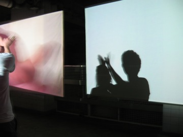 Stadtbad Video installation