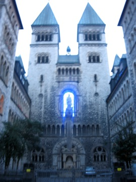 Church of the Blue Neon Christ.