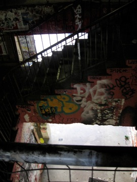 Stairwell in Tacheles