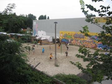 Beach volleyball in Berlin...