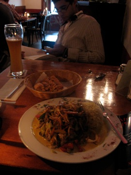 Dinner at Cafe V