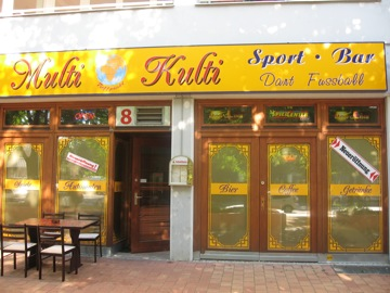 The Multi Kulti Sports bar