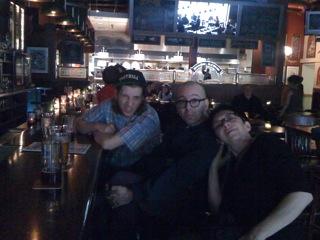 Brad Henkel, David Grollman, Laurie Amat