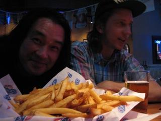 Tatsuya and Brad