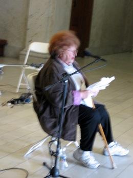 Dottie at Ventura City Hall