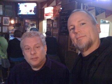 Rick and me