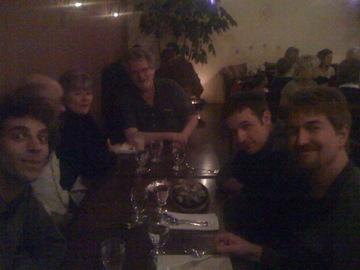 Allen, Dave, Sherry, Gerry, Kris, David
