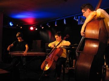 Anthea Caddy, cello / Clare Cooper, guzheng / Clayton Thomas, double bass