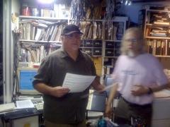 Michael Vlatkovich and Wayne Peet
