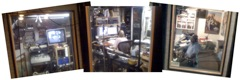 Panorama from my booth