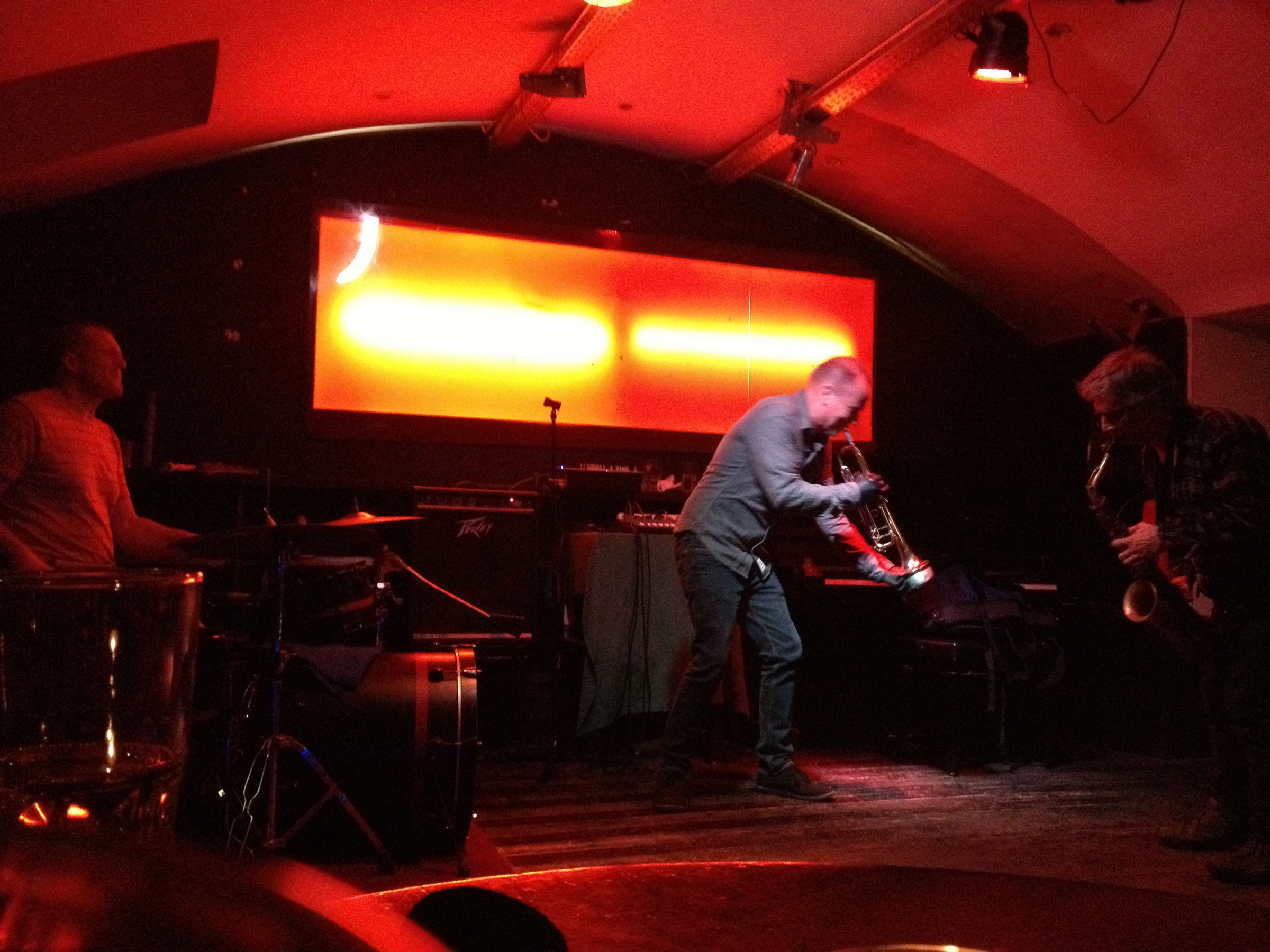 At Celeste in Vienna, Austria with Uli Soyka and Marco Eneidi