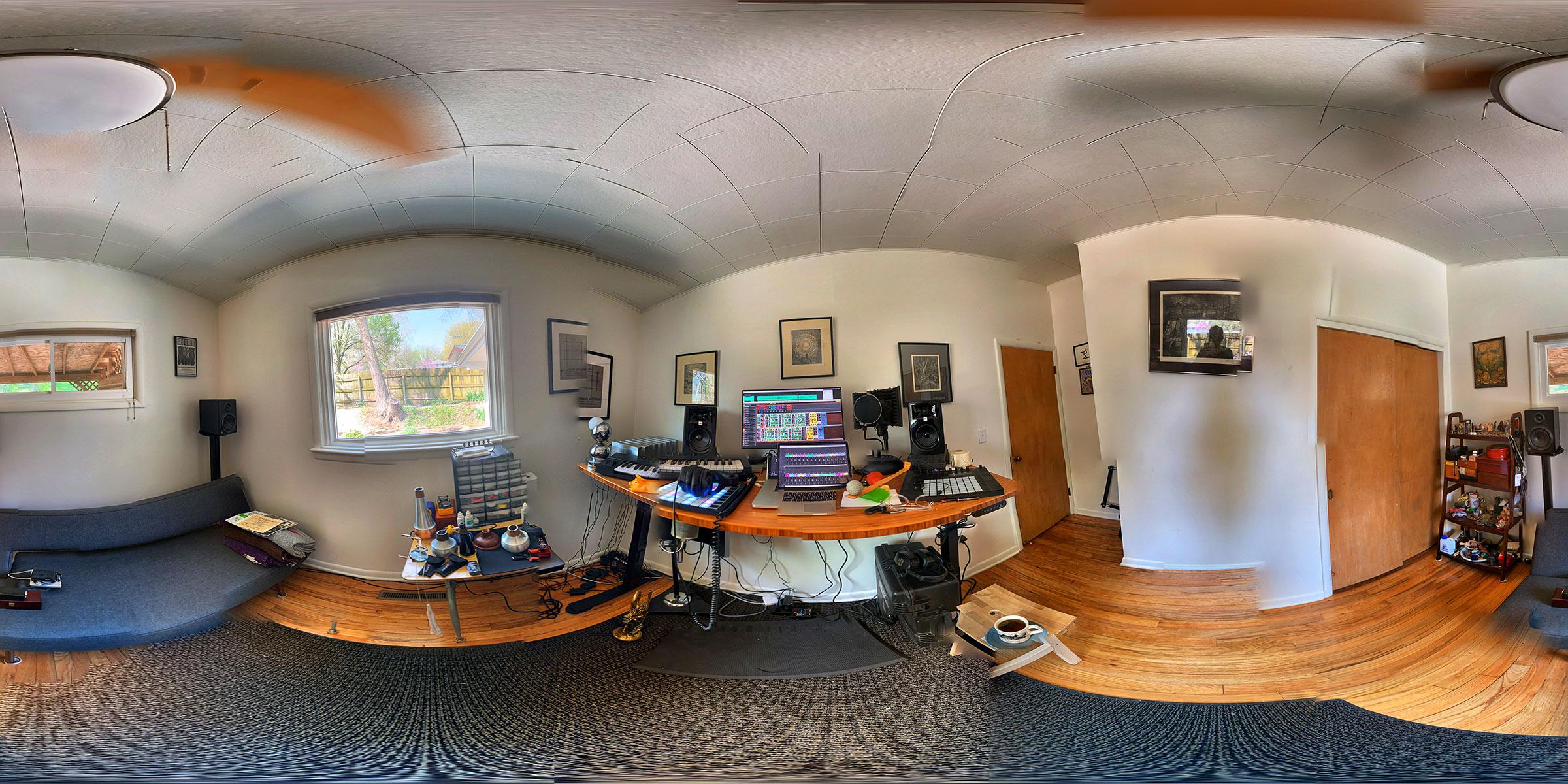 Jeff Kaiser's Home Studio