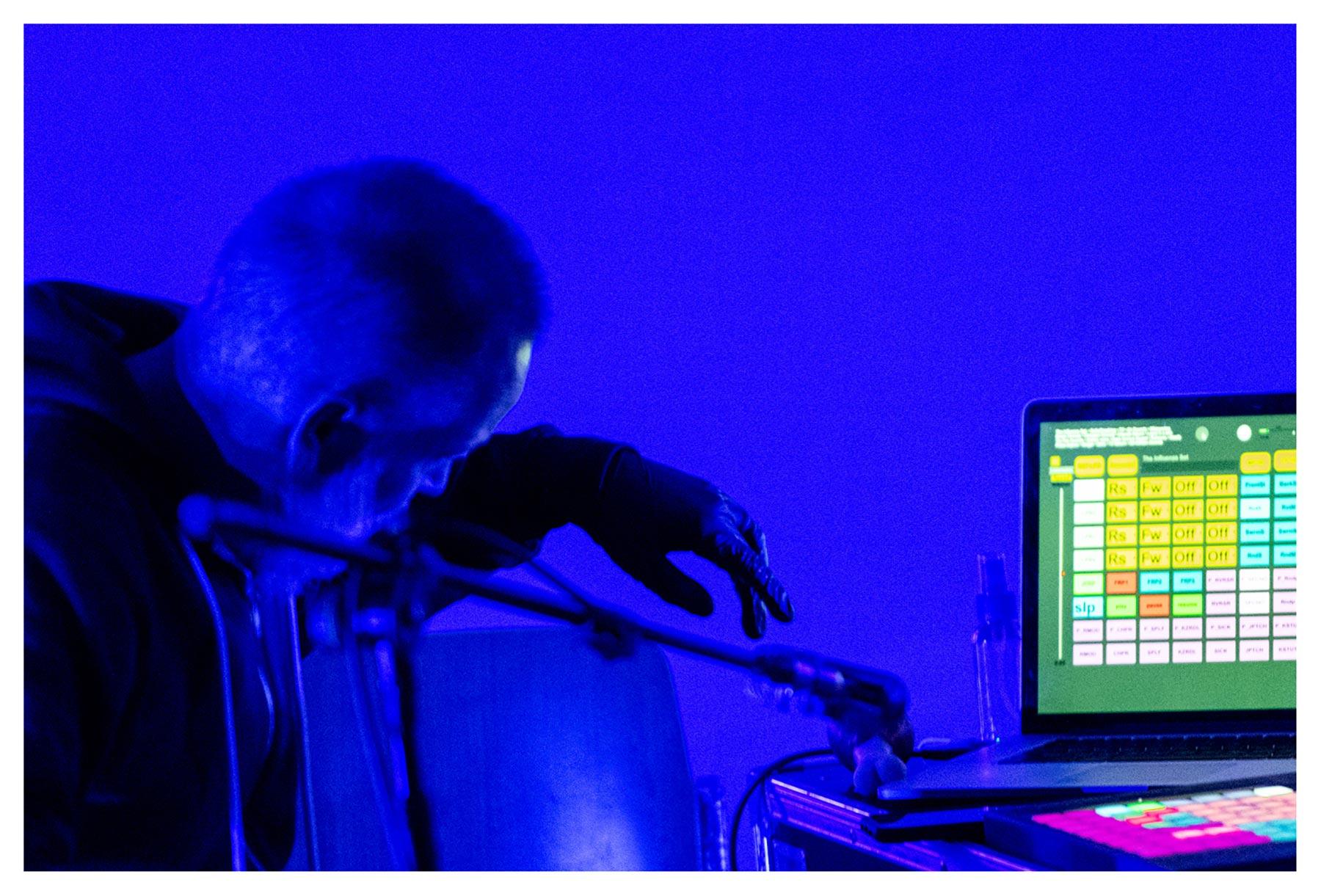 Jeff Kaiser at the Bernaola Music Festival, Artium, Vitoria-Gasteiz, Spain