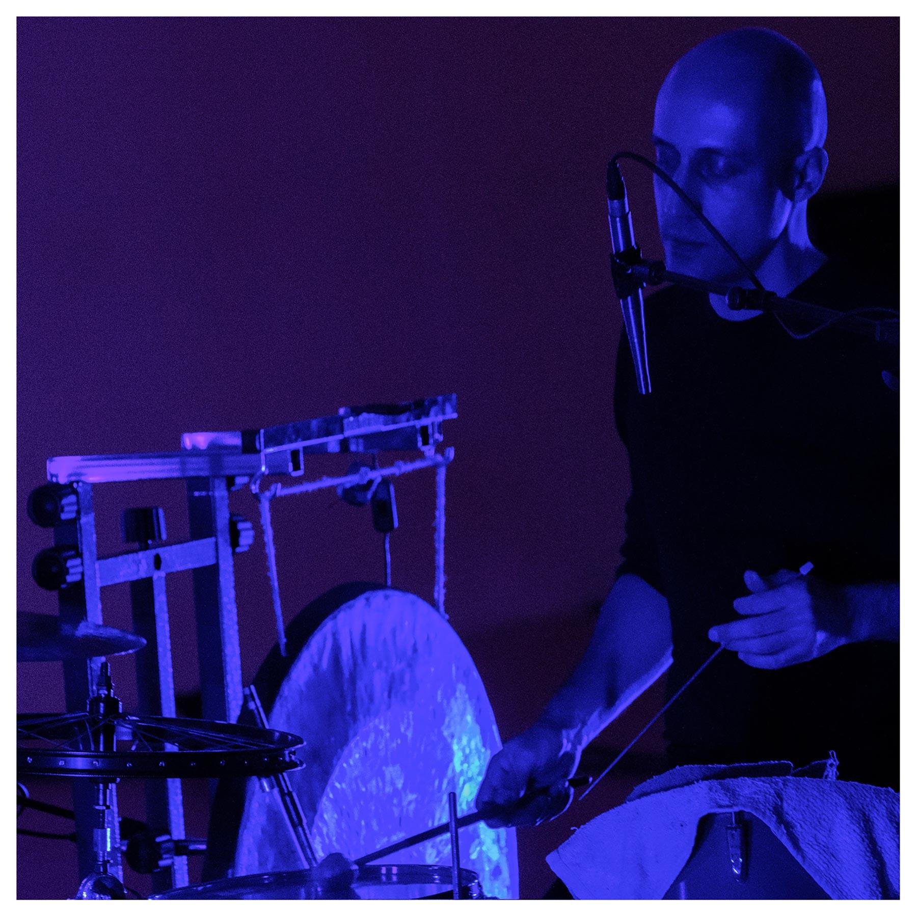 Luis Tabuenca at the Bernaola Music Festival, Artium, Vitoria-Gasteiz, Spain