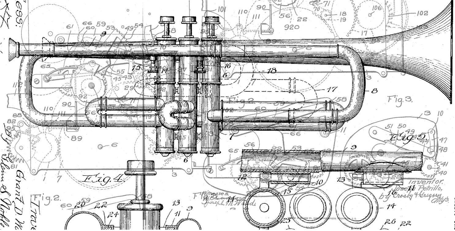 Improvising machine #7325 - Inside my trumpet, again